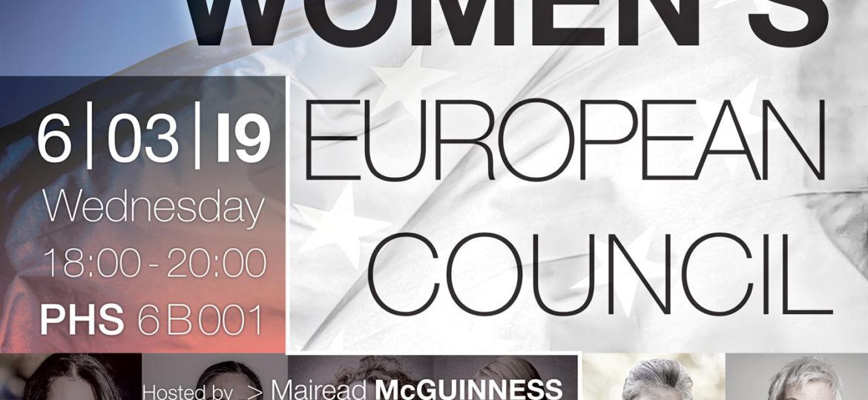Women European Council, 06 March 2019